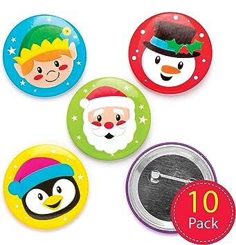 Design Star Badges Pack of 10 Kids Baker Ross