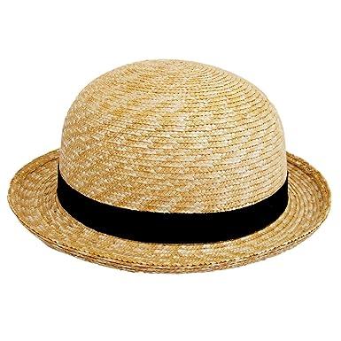 (田中帽子) ルナ 子供用 セーラー 麦わら帽子 (帽子 キッズ 幼児 幼稚園 入園