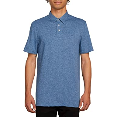 Volcom Hombre A0111700 Manga Corta Camisa Polo - Azul - XX-Large ...