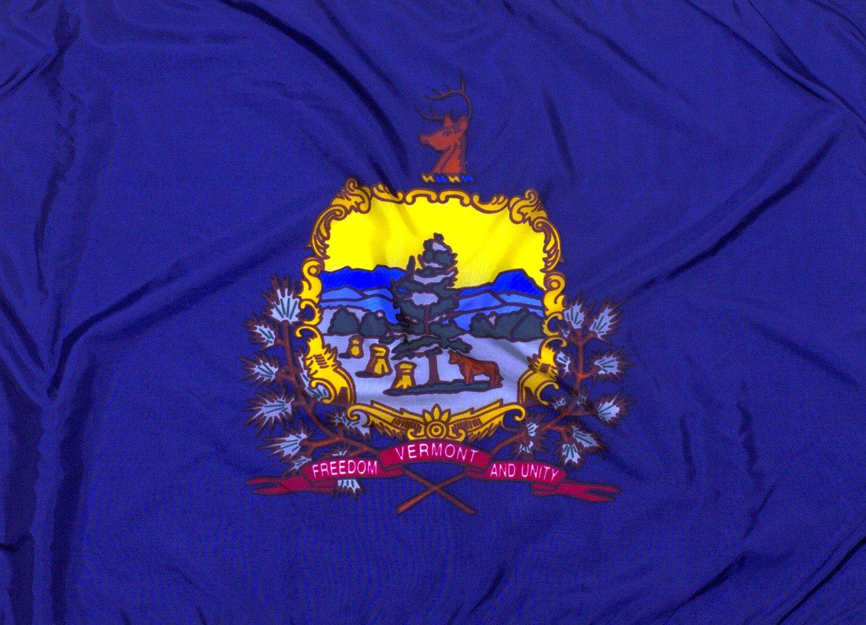 5x8ft Vermont Flag - Highest Quality Outdoor Nylon