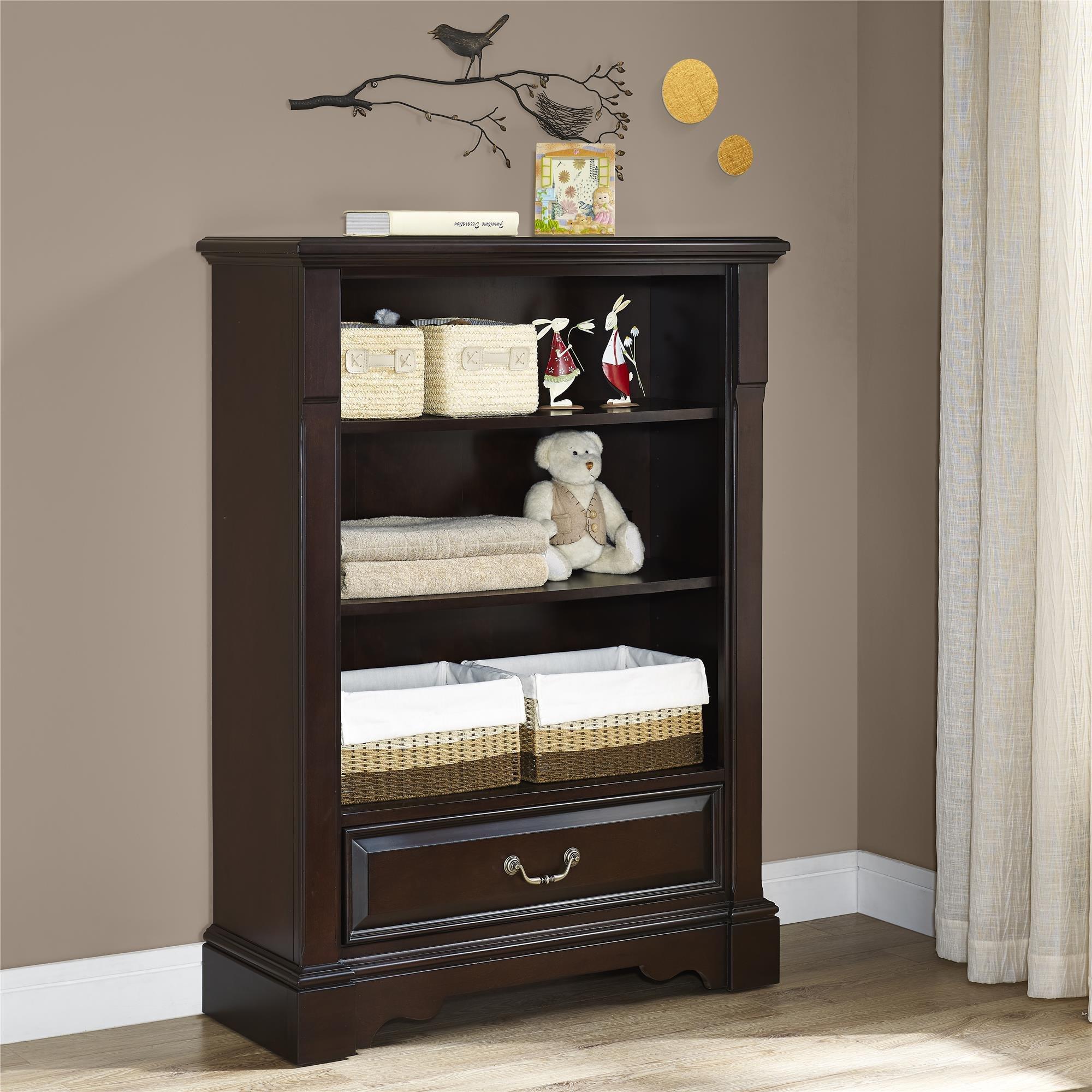 Baby Knightly Mirabel Bookcase, Espresso