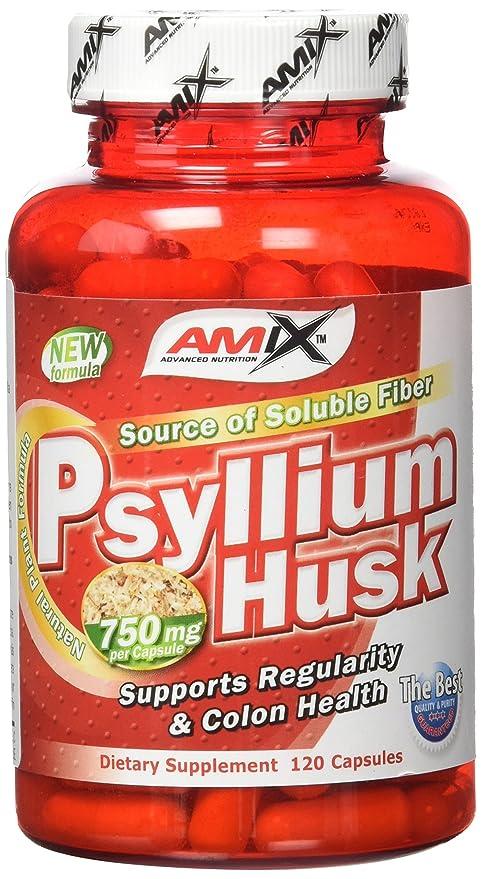 Amix Psyllium Husk Vitaminas & Minerales - 120 Cápsulas