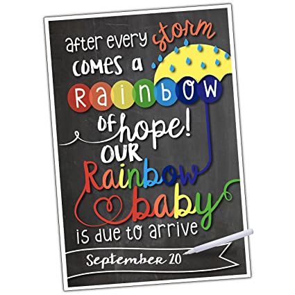 amazon com katie doodle pa007 sign rainbow baby birth