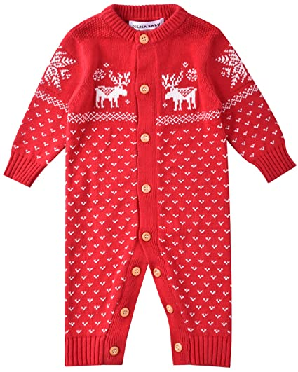 ZOEREA peleles bebe invierno Suéter sweater sudaderas niño suéter navidad 0-18 meses: Amazon.es: Ropa y accesorios