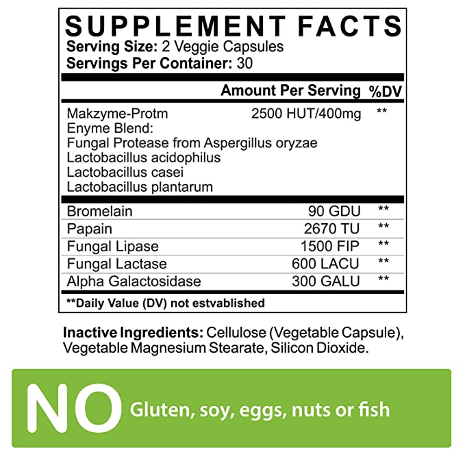 Amazon.com: Las enzimas digestivas con probioticos ...