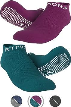 2 Paar Barre Rutschfeste Anti Skid Grip Socken Yoga perfekt für Pilates