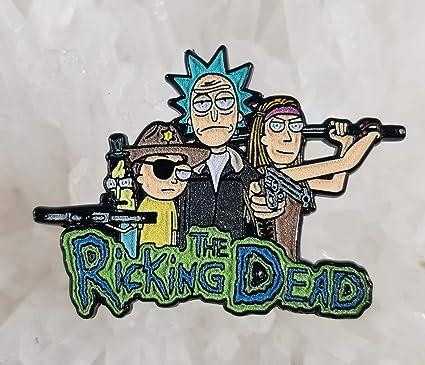 Amazon com : Walking Dead Rick Sanchez Morty Mr Poopy