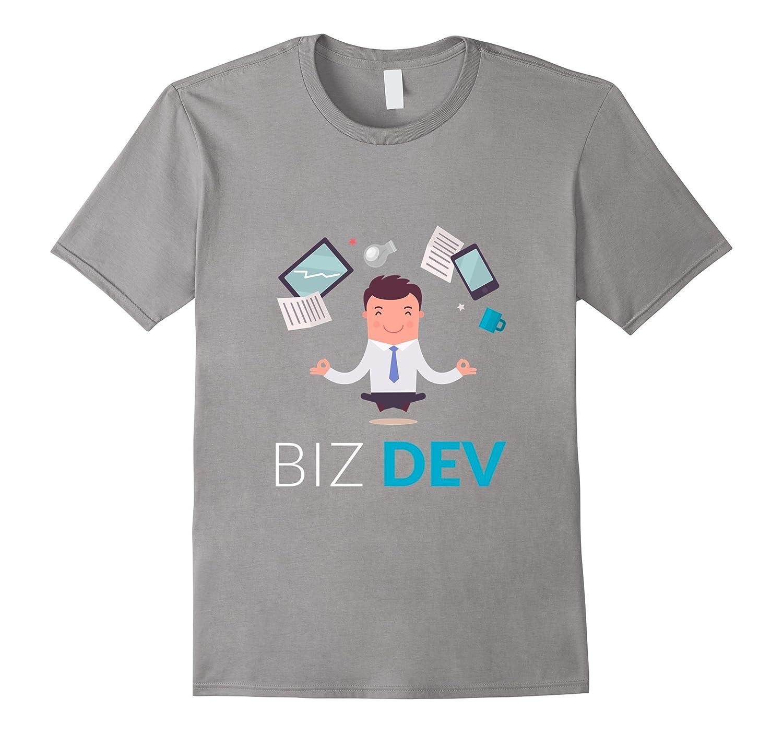 BIZ DEV Business Entrepreneur Hustle Nerd Geek T-shirt-T-Shirt