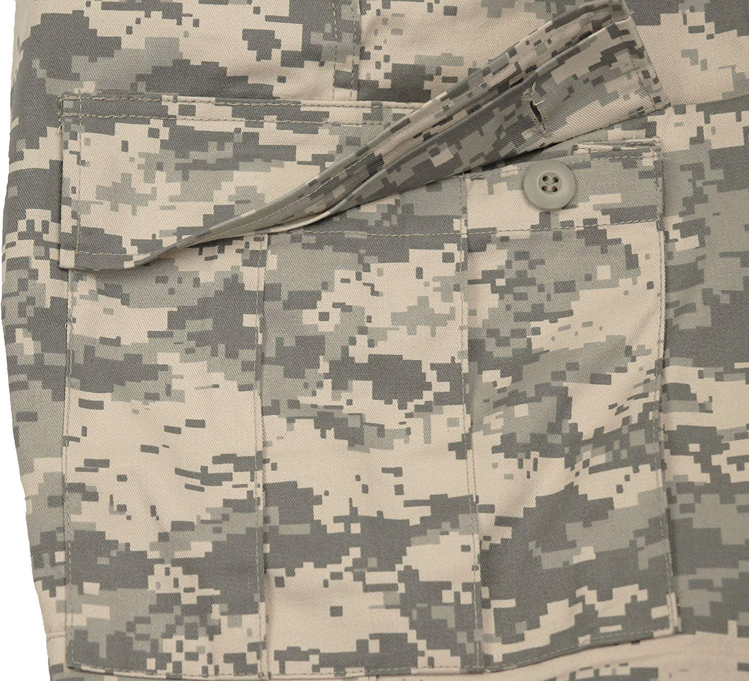 Army Universe Mens ACU Digital Camouflage Military BDU Cargo Pants with Pin  (W 31-35 - I 29.5-32.5) M - 8685-M   Pants   Clothing 862e1e9ca
