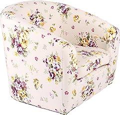 Emall Life Kid's Armchair Children's Roundy Chair Cartoon Sofa Wooden Frame for Kindergarten