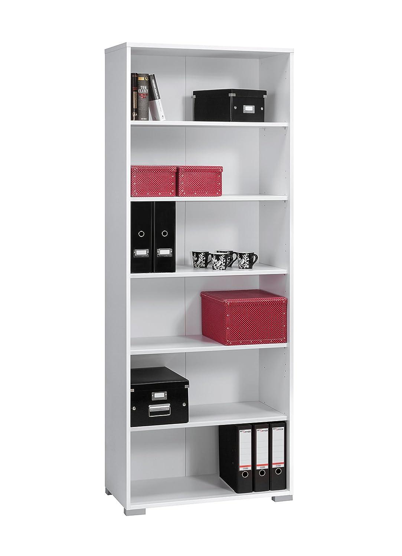Lisel-de Aktenregal Büroschrank Maja System Bücherschrank in Icy Weiß 80x214,4x40cm