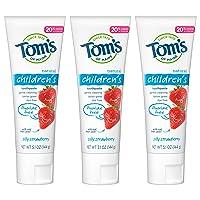 Tom's of Maine Fluoride-Free Children's Toothpaste, Kids Toothpaste, Natural Toothpaste...