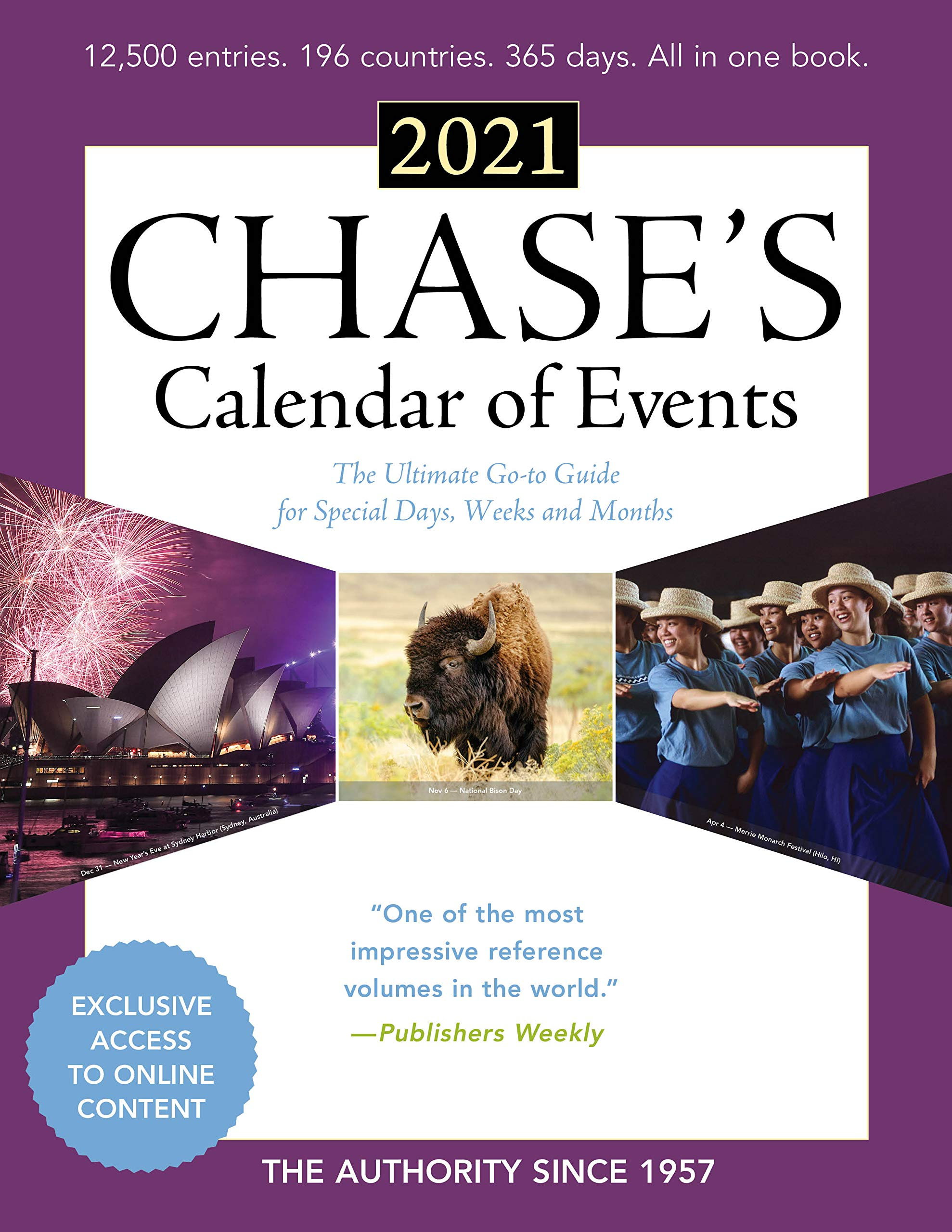 Chase's Calendar of Events 2021: The Ultimate Go to Guide for