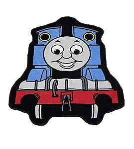Character World TTT-EXP-RC5-MSC-12 - Alfombra con diseño de Thomas Express (84 x 67 cm)