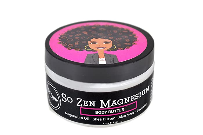 Lil Little So Zen Magnesium Butter - Sleep Cream, Natural Relief For Pain, Muscle