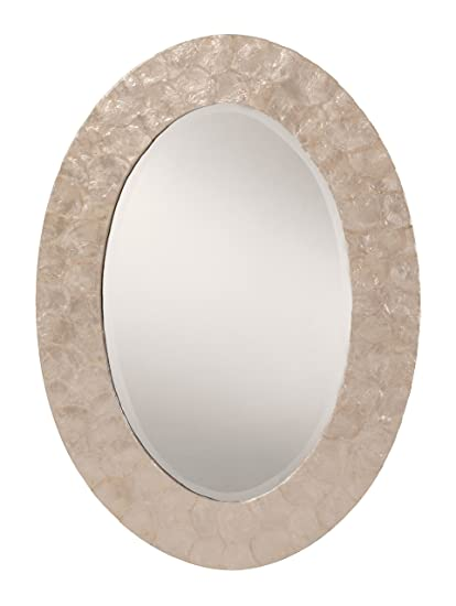 Amazon.com: OSP Designs GC0520-11-osp Rio Beveled Wall Mirror with ...