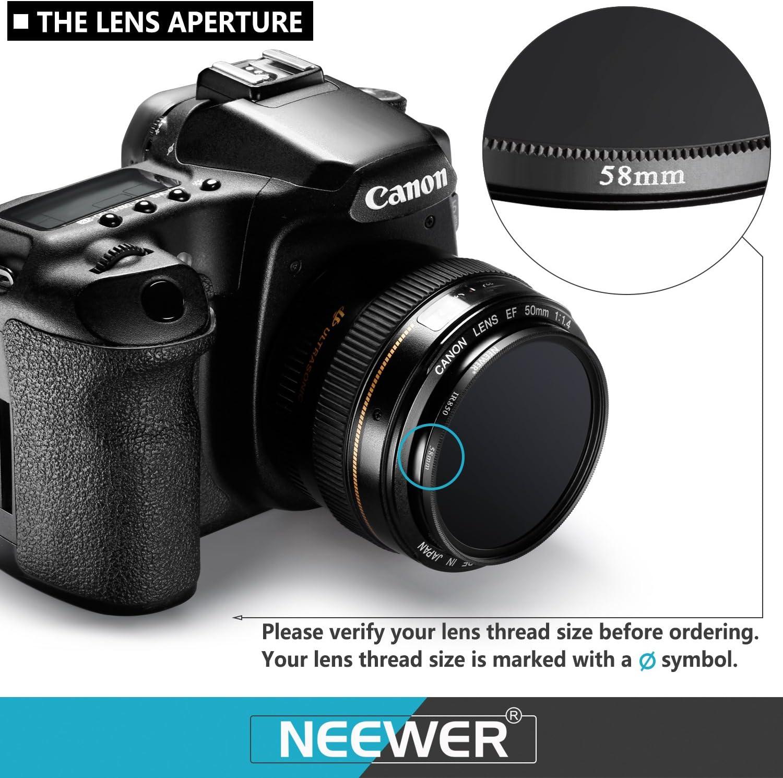 vhbw 1x Camera filtro infrarosso nero 720nm 49mm Ø IR720
