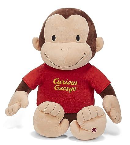 Amazon Com Kids Preferred Curious George Jumbo 26 Plush With Sound