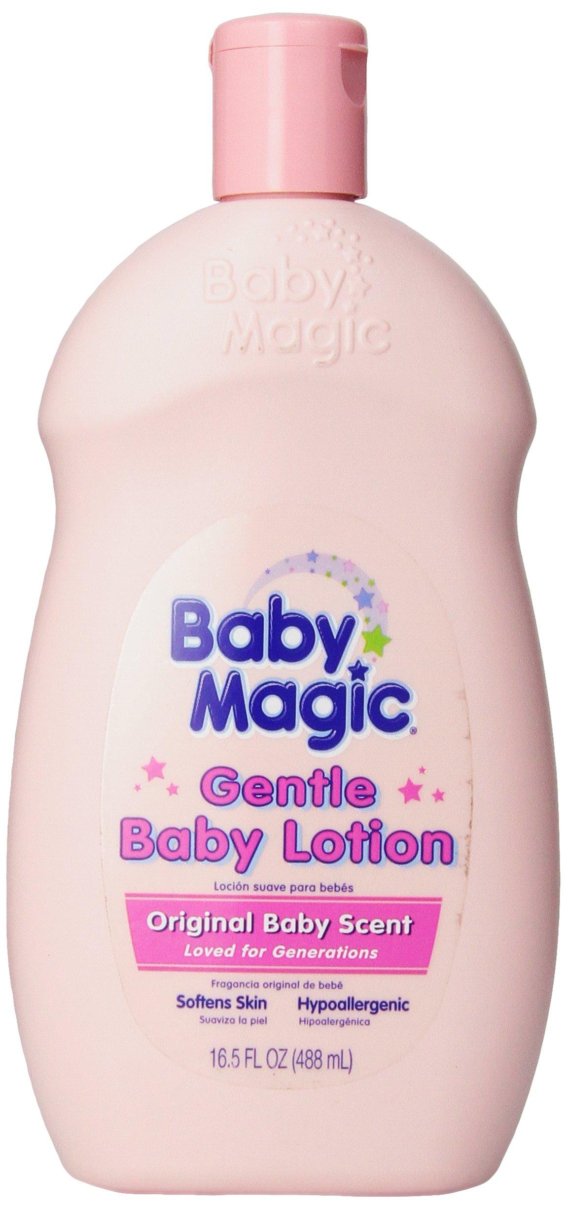 Baby Magic Gentle Baby Lotion Original Baby Scent 16.5 oz.