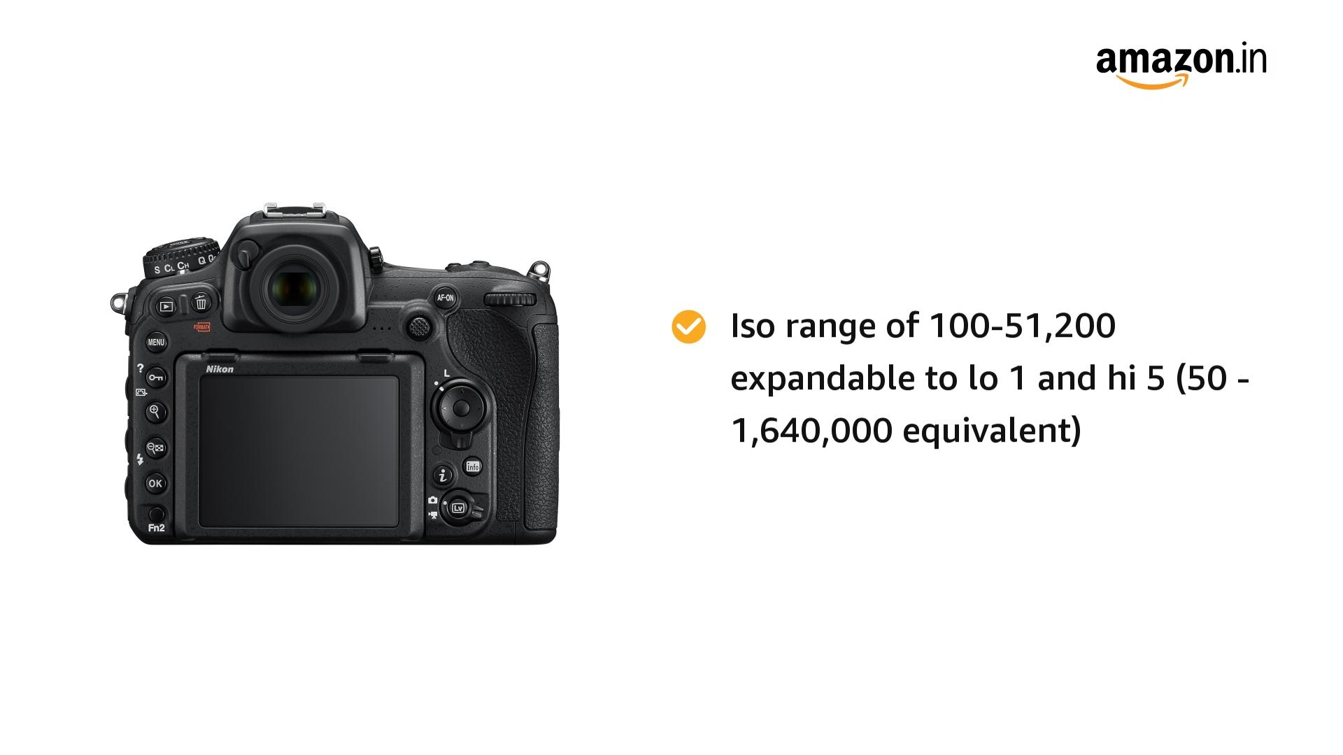 NIKON D 500 Body with 64 GB (Class 10) SD Card