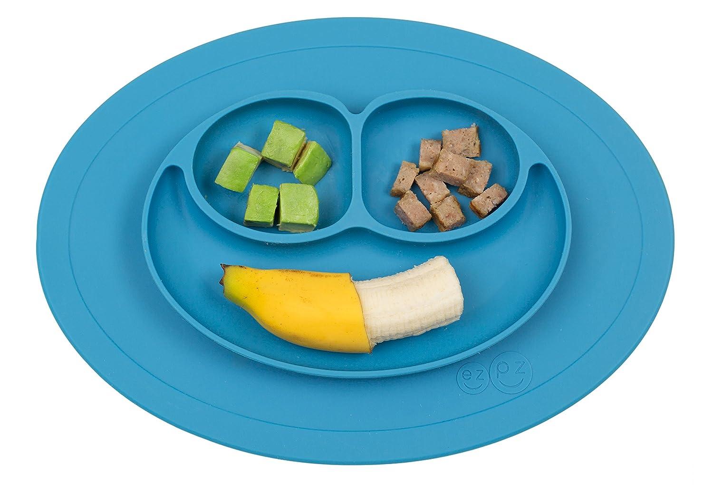 Amazoncom Ezpz Mini Mat One Piece Silicone Placemat Plate