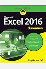 Excel 2016 For Dummies (For Dummies (Computers)) Paperback