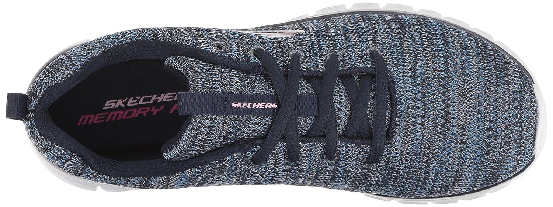 Skechers Womens Graceful-Twisted Fortune Sneaker