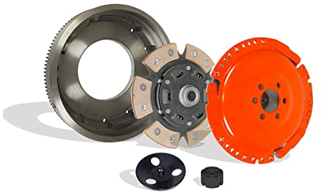 Clutch With Flywheel Kit Works With Vw Cabrio Golf Gti Jetta Final Base Gti K2 Jazz 1999-2002 2.0L l4 GAS SOHC Naturally Aspirated (6-Puck Disc Stage 3; ...