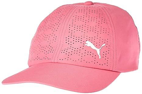 c4a1eb85d97 Amazon.com   Puma Golf 2018 Women s Duocell Hat (Carmine Rose