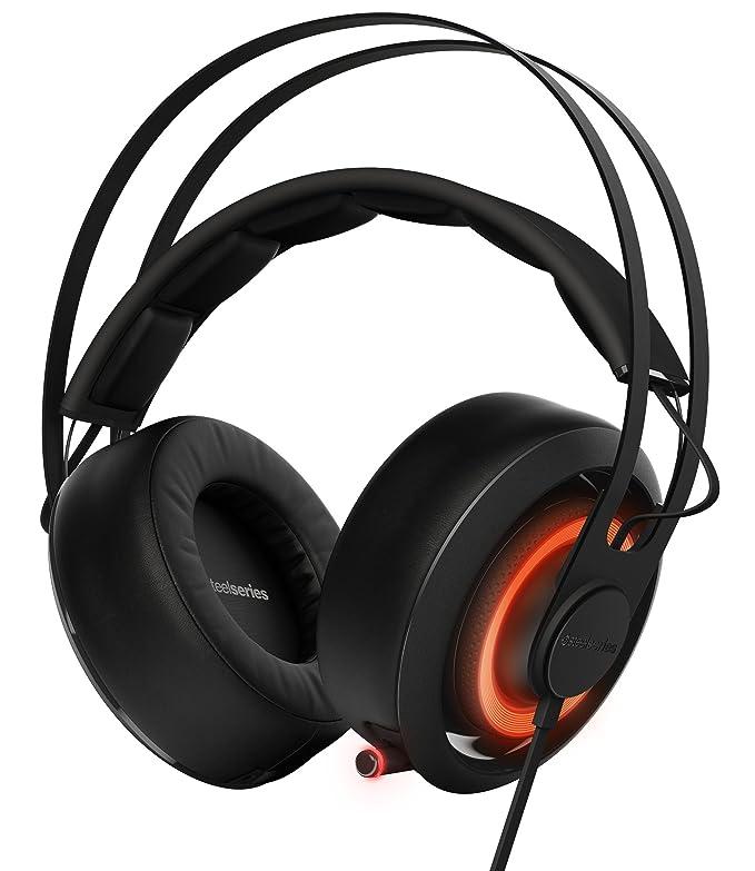 57 opinioni per SteelSeries Siberia 650, cuffie da gioco, suono Dolby Surround 7.1,
