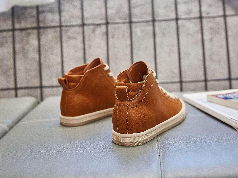 KPHY Damenschuhe Leder Schuhe Mode Freizeit Studenten Zucker Zucker Zucker Farbe 35 1365b4