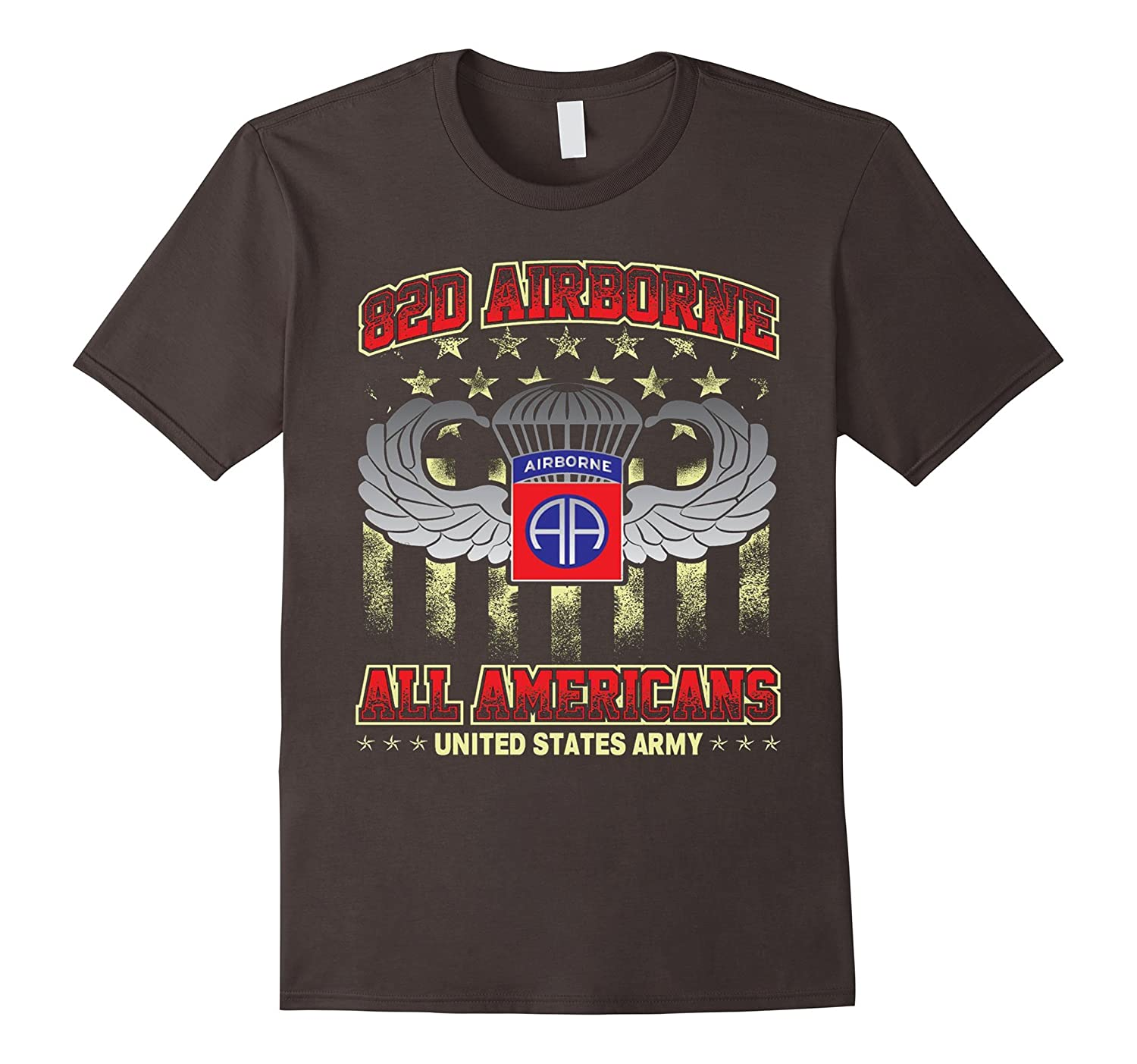 82nd Airborne Division – All Americans US Army Tshirt