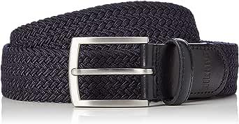 Marca Amazon - Hikaro Cinturón de tela Hombre