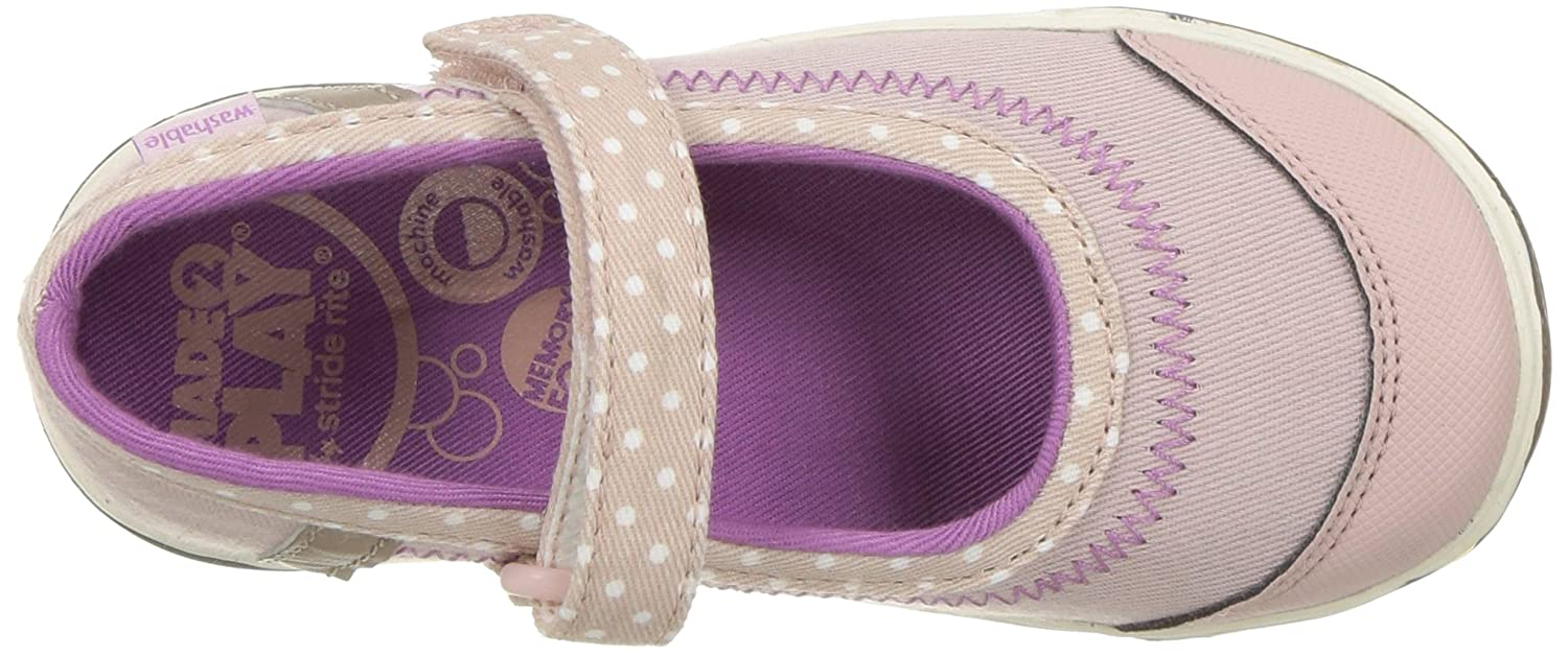 Stride Rite Kids Made 2 Play Jill Mary Jane Flat