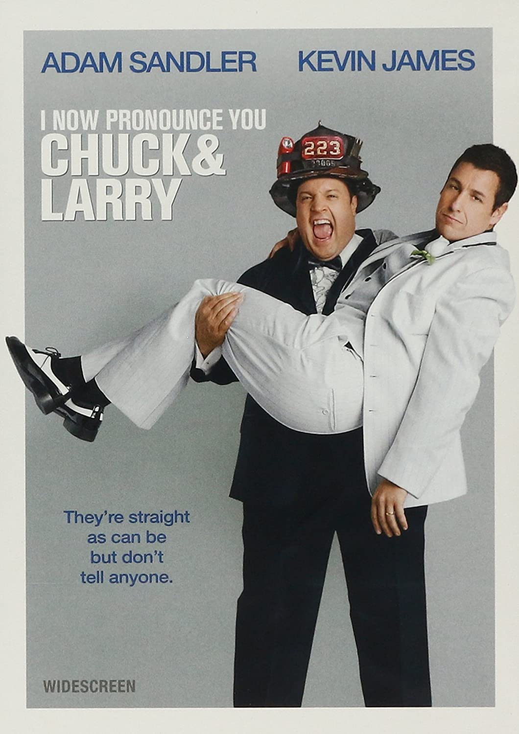 On the set, the actors Chuck and Larry: fire wedding did not work