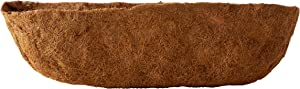 Bosmere F919 30-Inch Pre-Formed Replacement Coco Liner with Soil Moist for Window Basket