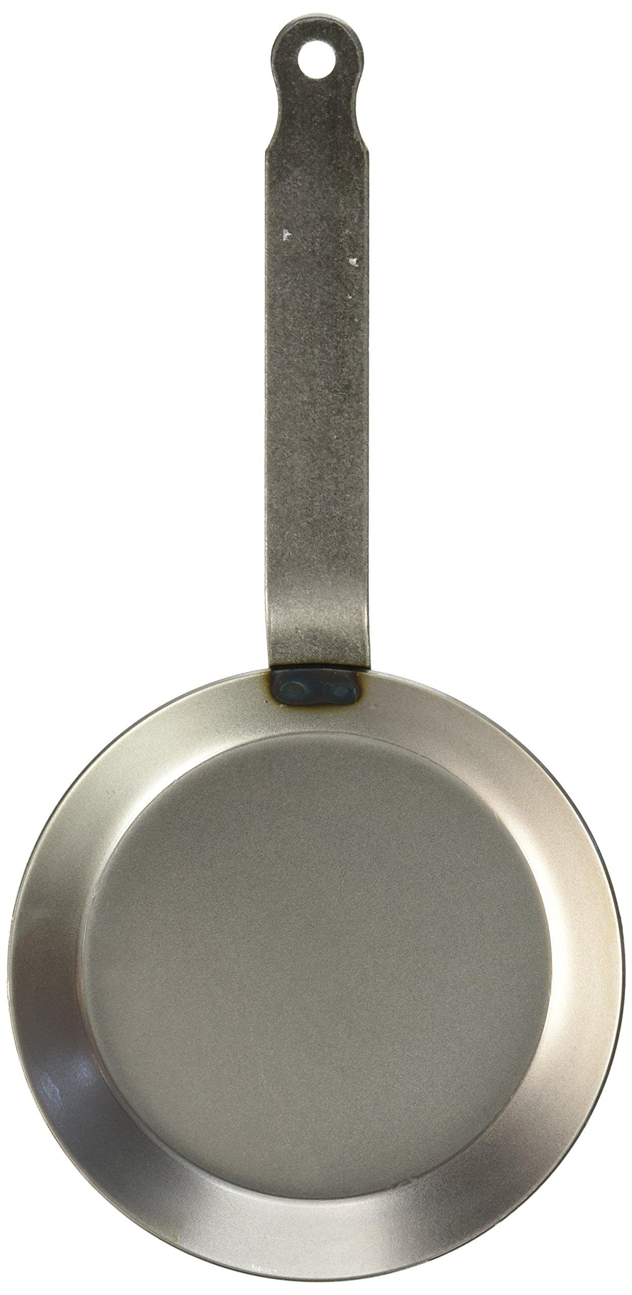 Matfer Bourgeat 062031 Round Crepe Pan, 7-Inch, Gray