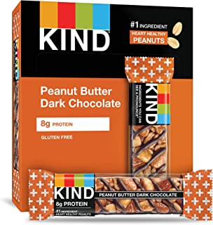 product image for KIND Bars, Peanut Butter Dark Chocolate, Gluten Free,1.4 Ounce,12 Count