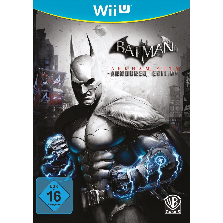 Batman: Arkham City - Armoured Edition - [Nintendo Wii U]: Amazon.de ...