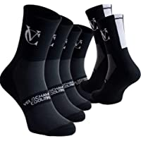 VeloChampion 3X Triple Speed Line Coolmax Cooling Breathable Sport air Heat Cycling Socks - Pack of 3 Pairs