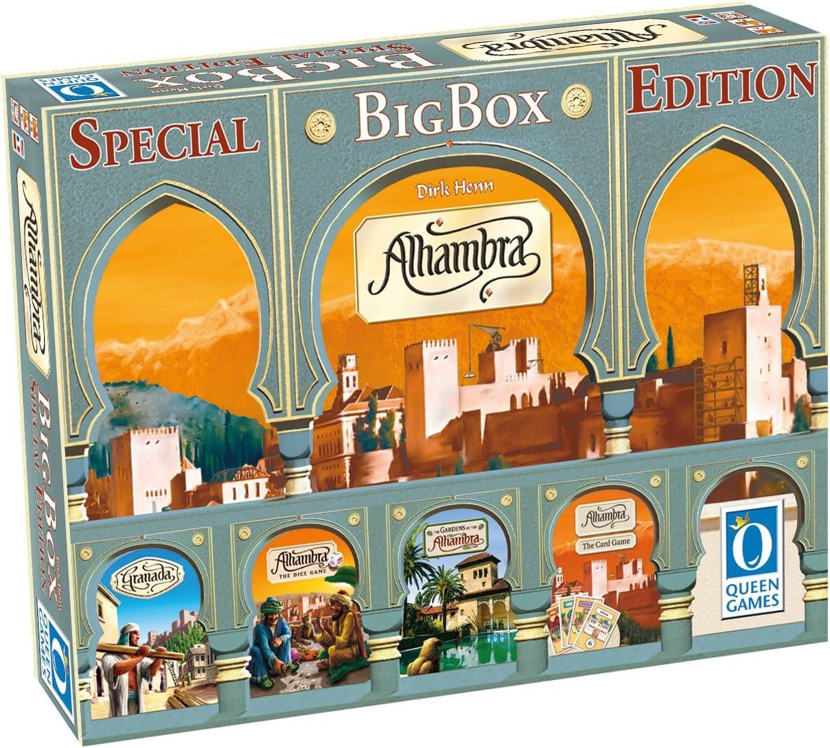 Queen Games 10132 – Juego de Tablero, Alhambra Big Box Special ...