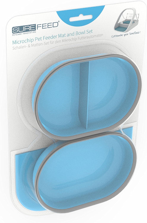 SureFlap SureFeed Microchip Pet Feeder Mat and Bowl Set