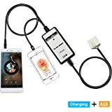 Yomikoo Aux Adapter Car Mp3 Player Digital Music Adapter for Honda 2.4 Accord 2003-2011 Civic 2006-2010 Acure CSX 2006…