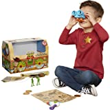 Toy Story 4 Trunk, Woody in A Box - 10Piece Toy Chest - Includes Lenny The Binoculars, Buzz Lightyear Laser Blaster…