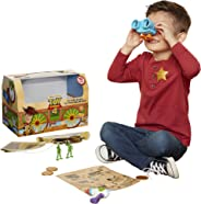 Toy Story Disney 4 Trunk, in A Box! 10Piece Woody Inspired Toy Chest - Includes Lenny The Binoculars, Buzz Lightyear Blaster,
