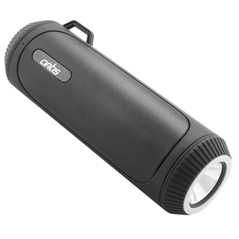 Artis BT22 Portable Wireless Bluetooth Speaker with LED Flash