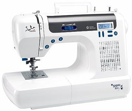 JATA MC822 - Máquina de coser (75 diseños de puntada, 12 punt, Flexi
