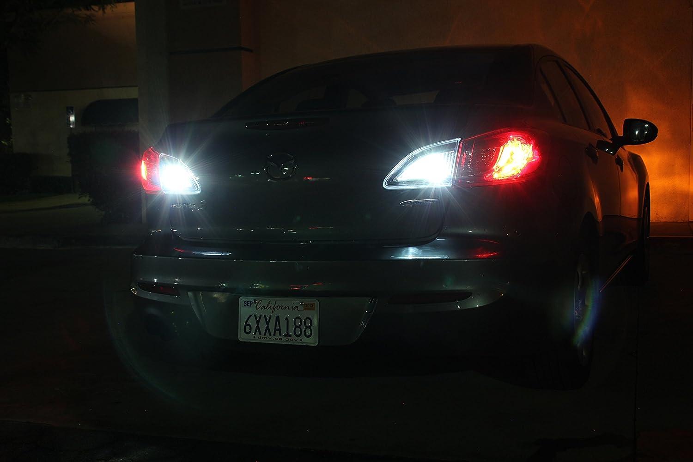 Amazon.com: Honda Civic 2013-2015 White LED Package Kit - Interior + Tag+  Reverse Lights (8 Pieces): Automotive