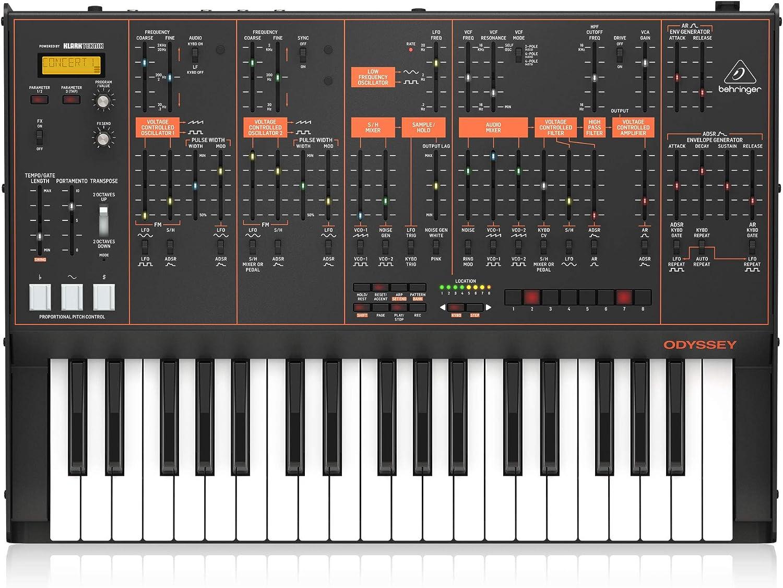 Behringer Odyssey 37 Key Sintetizador analógico de producción de ...
