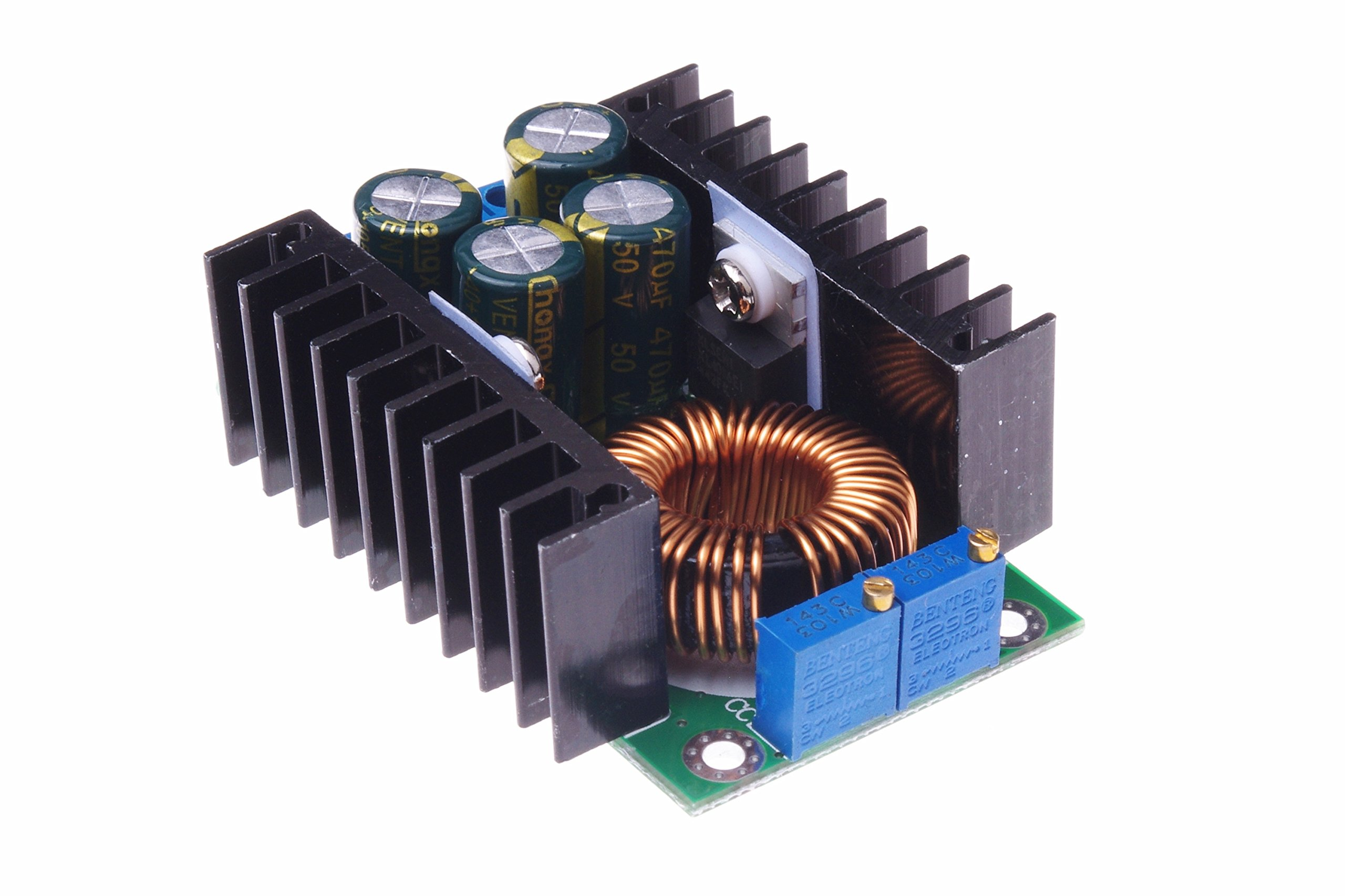 SMAKN® Constant Current/Voltage DC Buck Converter 7-40V To 1.25-35V LED Driver Charger Module 8A